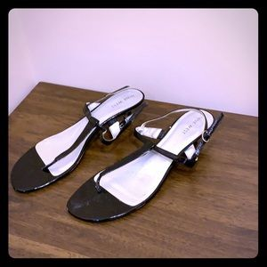 Nine West 9.5 short heel sandal